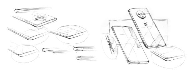 oneplus design sketches