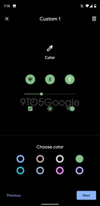 pixel theme colors