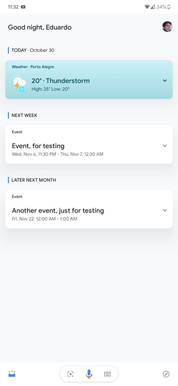 Assistant Updates feed 1