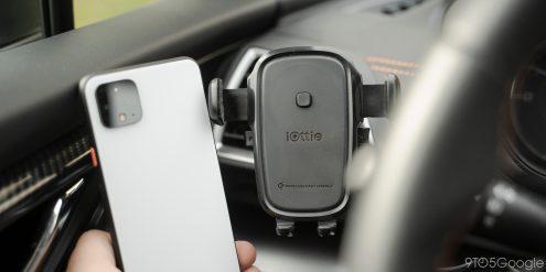 iottie pixel wireless car charger