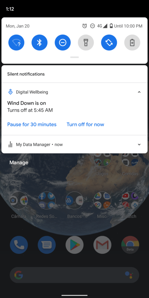 digital wellbeing wind down 1