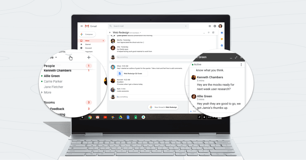 Google Chat in Gmail now lets you set 'away' status - 9to5Google