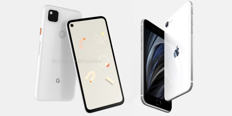 Pixel 4a vs iPhone SE: this is the comparison between the most affordable models from Google and Apple