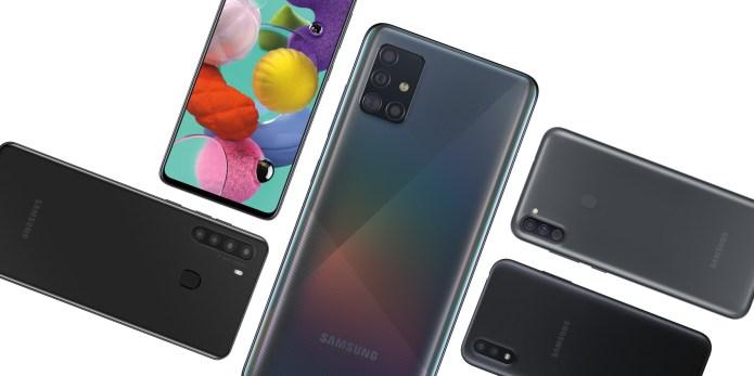 Samsung Galaxy A 2020 Series Debuts W Galaxy A51 5g 9to5google