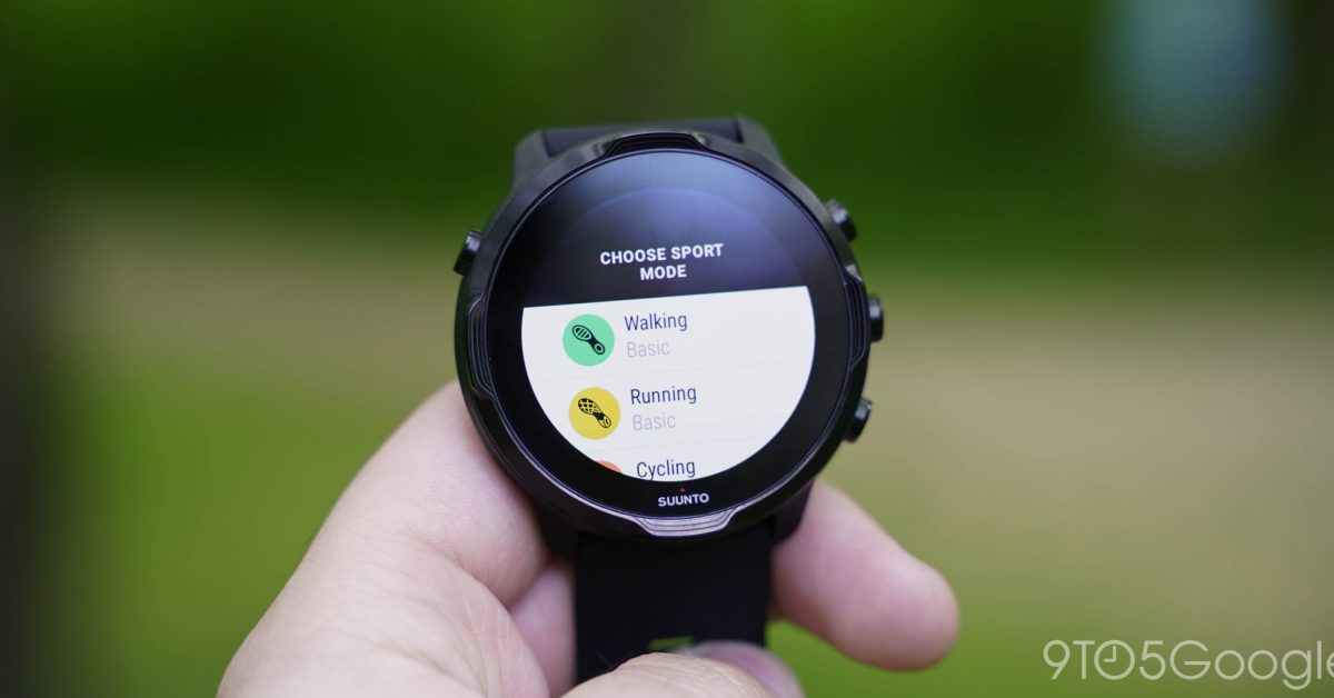 Suunto 7 w/ Wear OS is about to start tracking sleep - 9to5Google