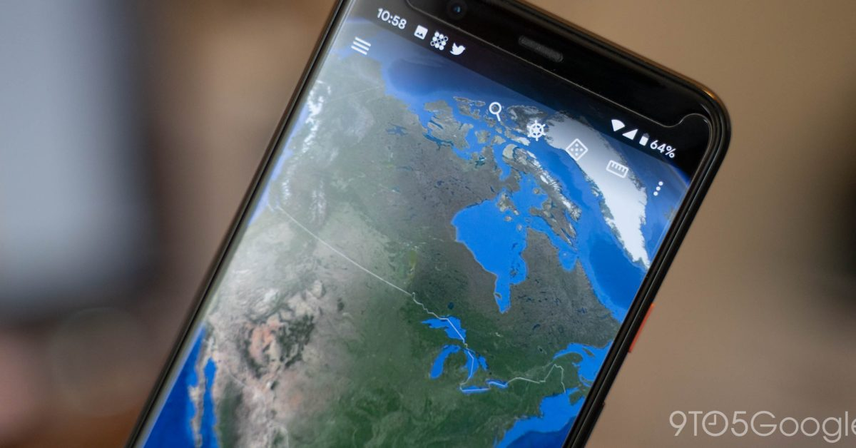 Google Earth is gaining a diligent dark theme