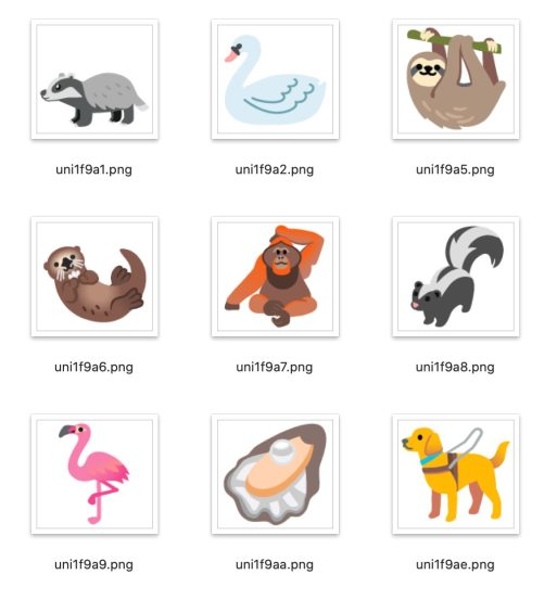 超过 100 款!来看看 iOS 14 及 Android 11 一共新增了哪些 Emoji 吧! 12