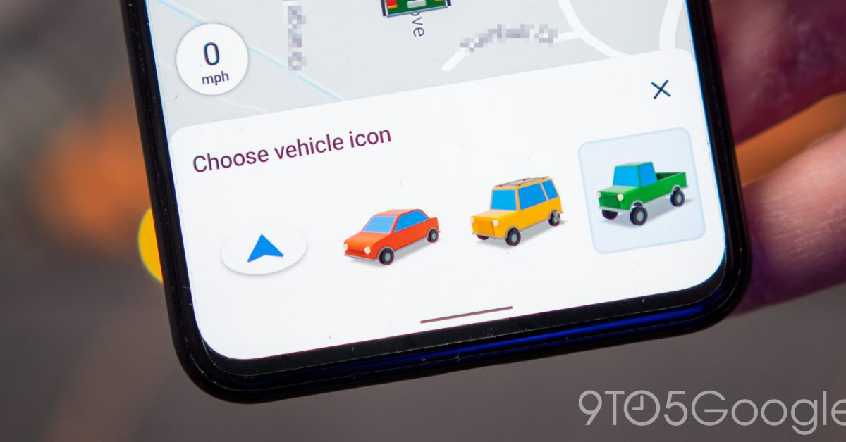 Google Maps for Android adds new vehicle icons - 9to5Google