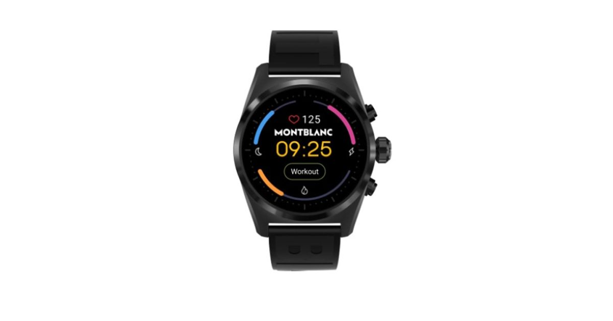 Montblanc Summit Lite to be 'cheap' luxury Wear OS watch - 9to5Google