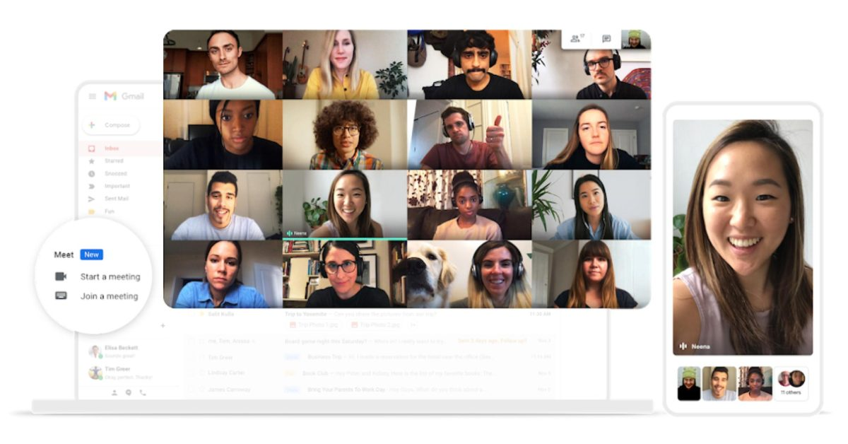 Google Meet extending free video calls for Gmail to June - 9to5Google
