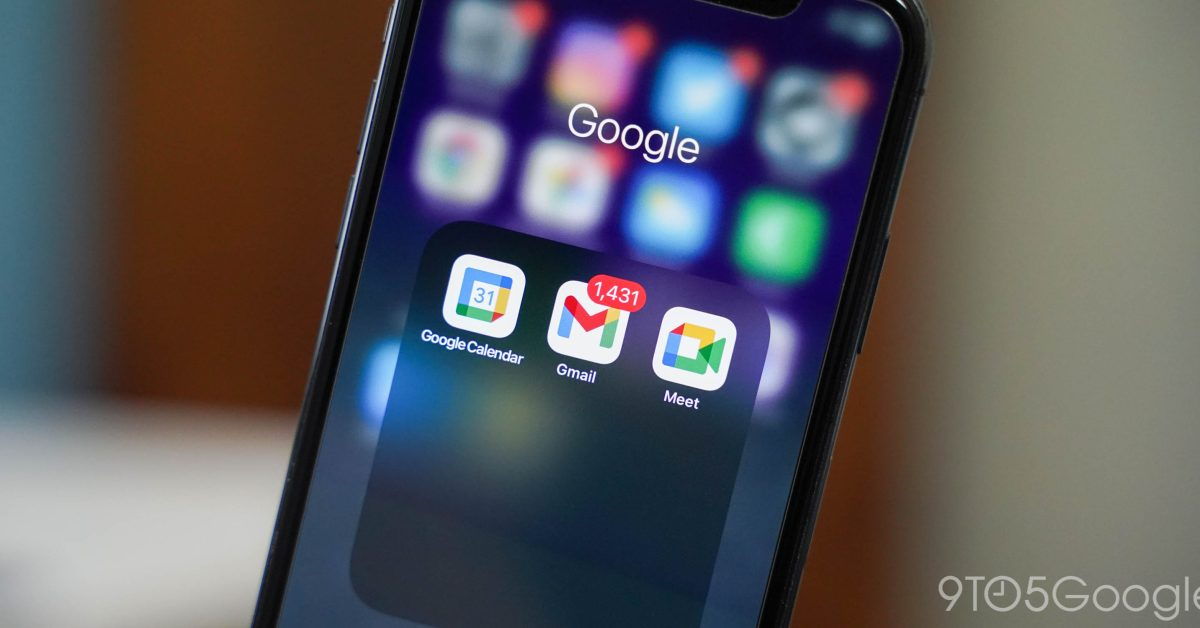 Google updates on iPhone return with Gmail, Calendar, Drive - 9to5Google