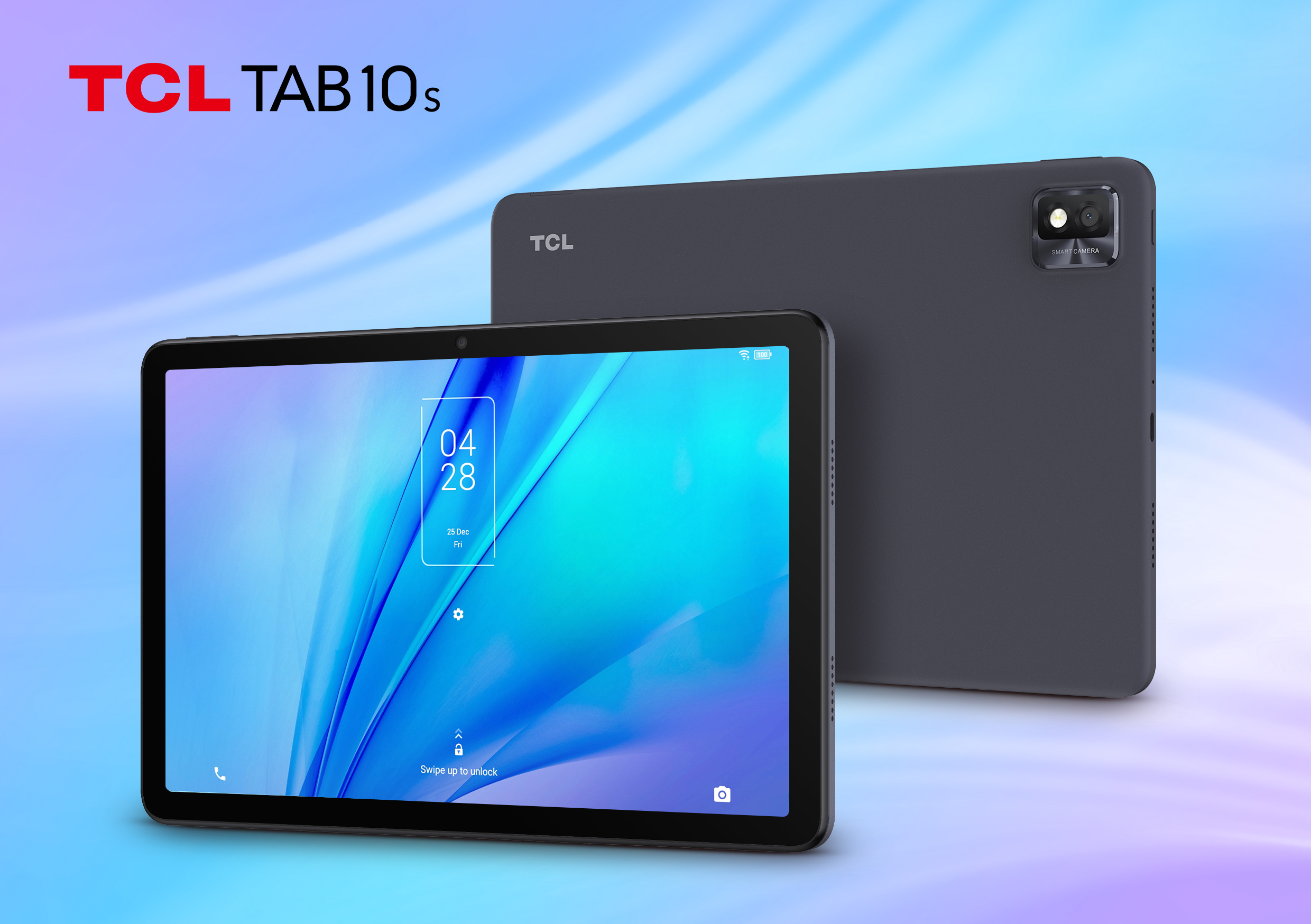 TCL TAB 10S Android tablet in Dark Grey colorway