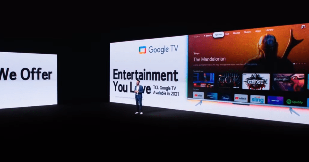 TCL adopts Google TV in 2021 models - 9to5Google