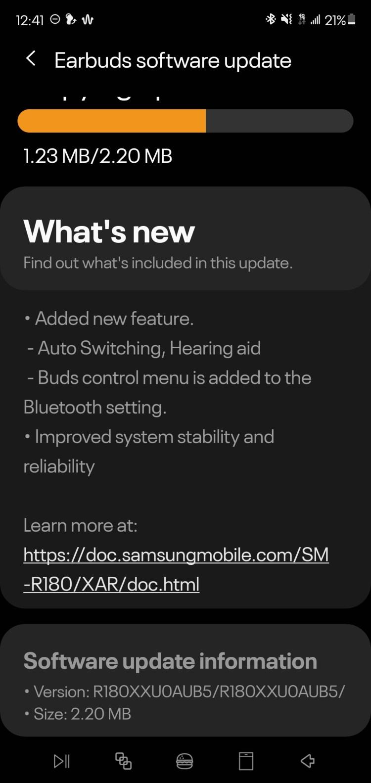 Galaxy Buds Live hearing enhancement