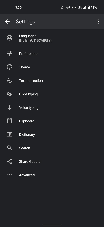 Gboard clipboard suggestion setting
