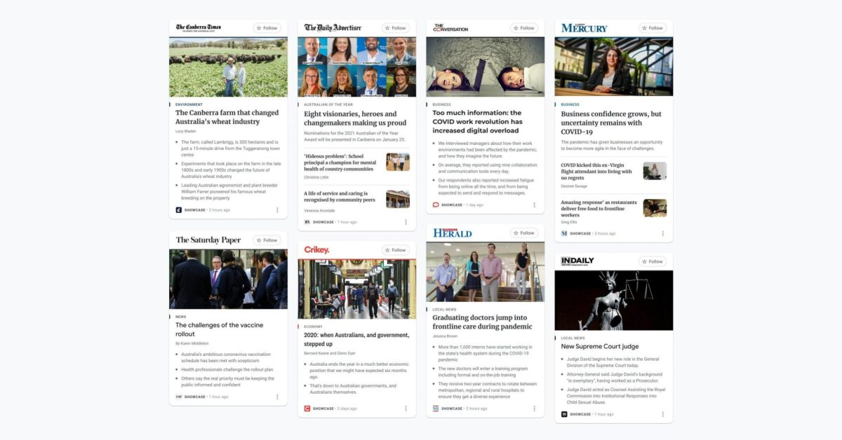 <p>Google Signals news partnership with WSJ and other UK, Australian News Corp Books thumbnail