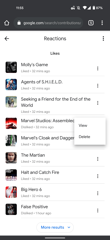 Google TV improve recommendations