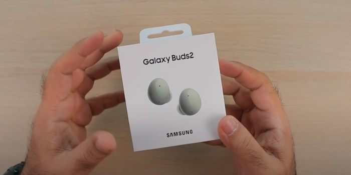 Samsung Galaxy Buds 2 receive early unboxing video - 9to5Google