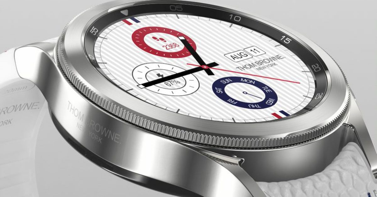 Galaxy Watch 4 gets a limited edition Thom Browne release w/ rhodium plating, $799 price thumbnail