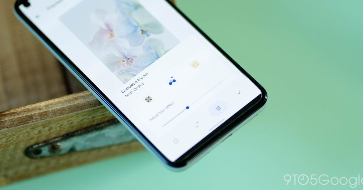 Pixel 6 series 'Bloom' backgrounds are live wallpapers w/ blur and parallax [Gallery] thumbnail