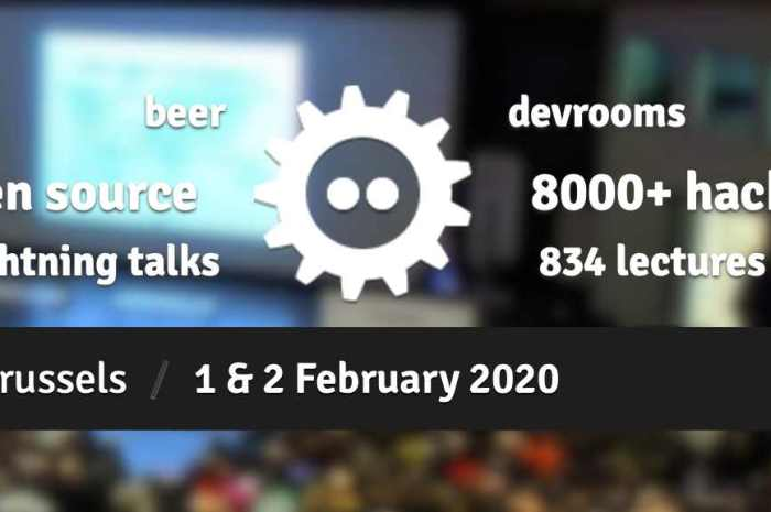 FOSDEM 2020 Opens Its Doors in Brussels to Open Source Developers