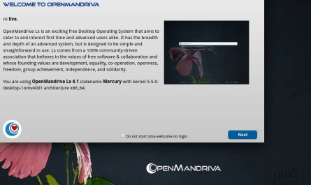 OpenMandriva Lx 4.1 RC