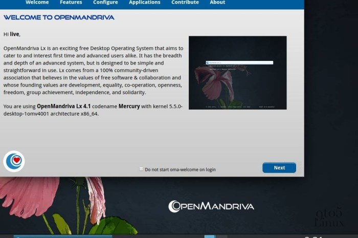 OpenMandriva Lx 4.1 Will Ship with Linux Kernel 5.5, LibreOffice 6.4
