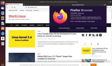 Mozilla Firefox 73