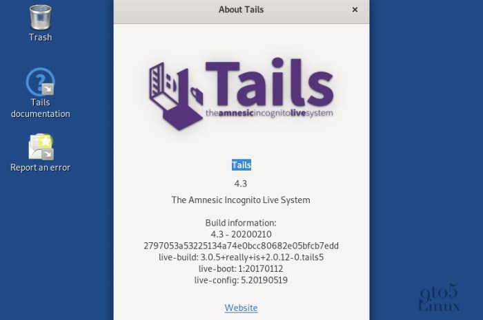 Tails 4.3 Anonymous OS Adds Trezor Cryptocurrency Wallet