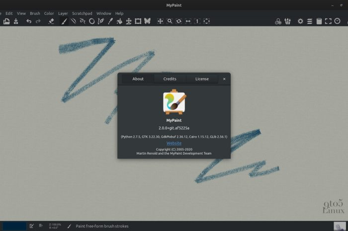 MyPaint 2.0 Open-Source Drawing and Paining App Adds Major New Features