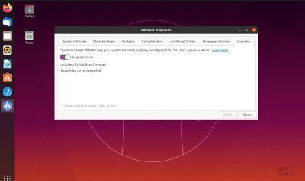 Ubuntu kernel live patch