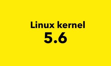 Linux kernel 5.6