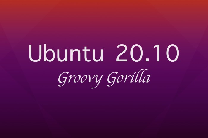 "Ubuntu 20.10 ""Groovy Gorilla"" Is Slated for Release on October 22"