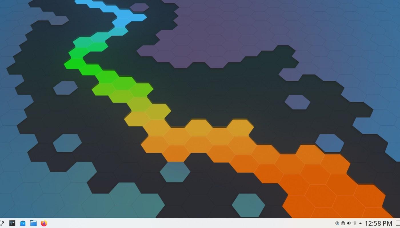 Plasma 5.20 Desktop