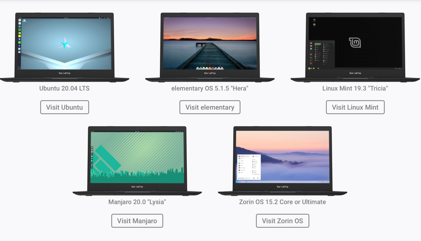 Star Labs elementary OS
