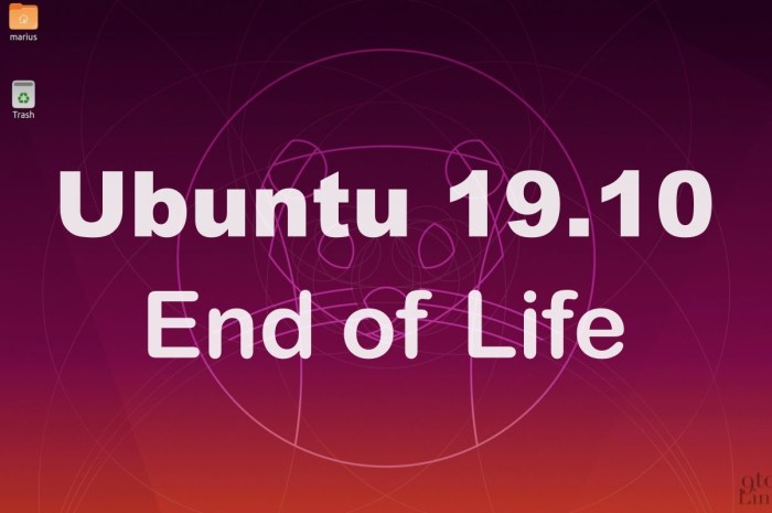 Ubuntu 19.10 (Eoan Ermine) Will Reach End of Life on July 17th, 2020