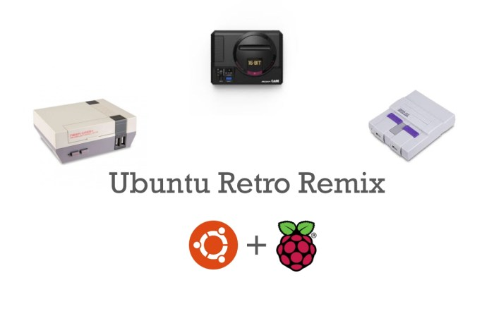 Meet Ubuntu Retro Remix, an Ubuntu Distro to Turn Your Raspberry Pi into a Retro Gaming Console