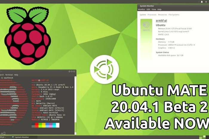 Ubuntu MATE 20.04.1 for Raspberry Pi Now Has a Second Beta Ready for Testing