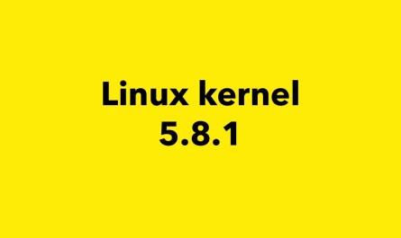 kernel 5.8 point release