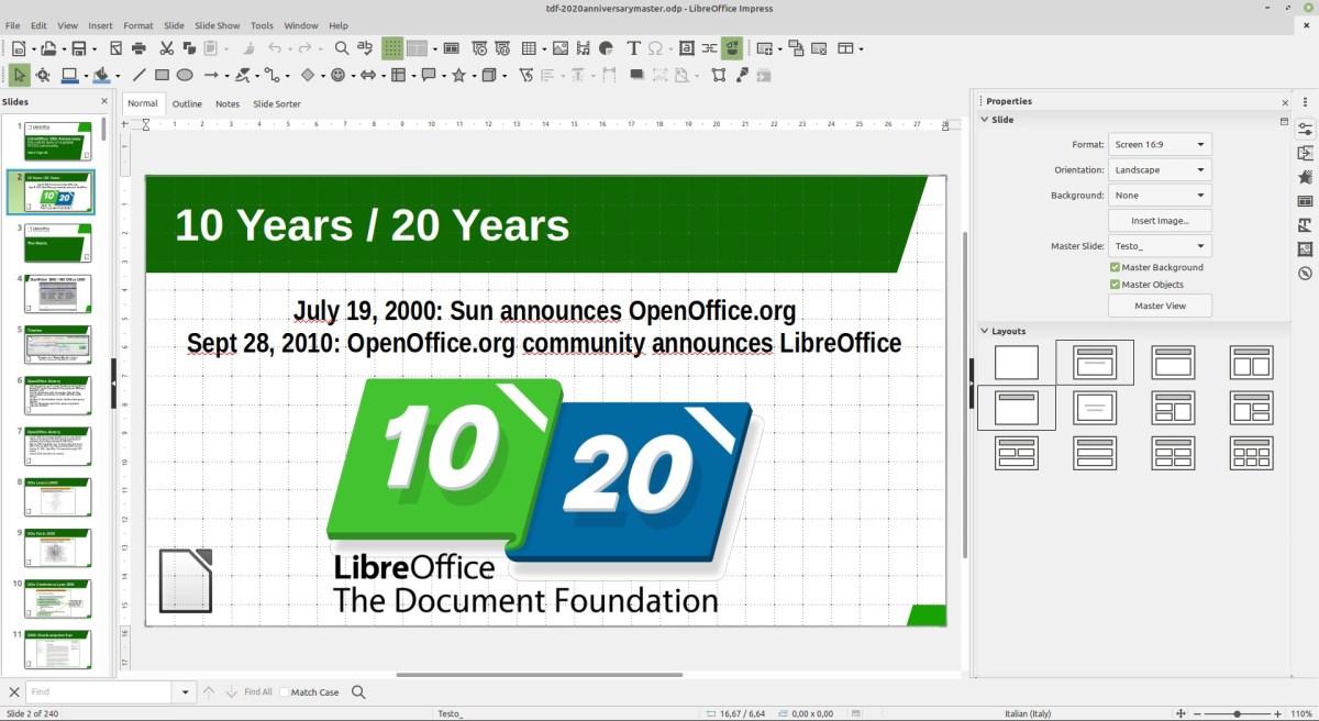 LibreOffice 7.0 é oficialmente lançado