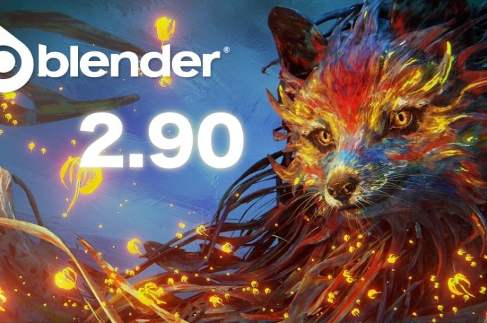 Blender 2.90 Open-Source 3D Creation Software Released with Major Changes