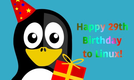 Happy 29th Birthday Linux
