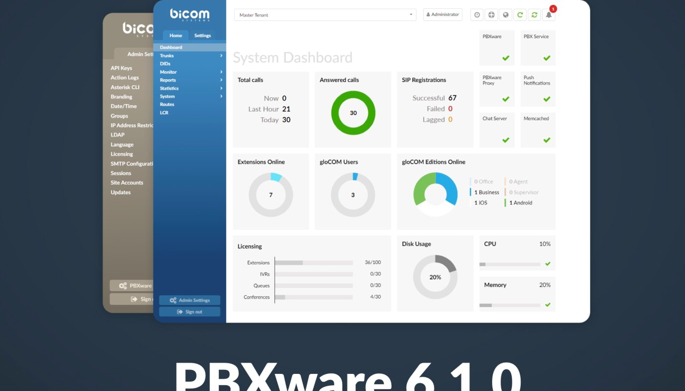 PBXware 6.1