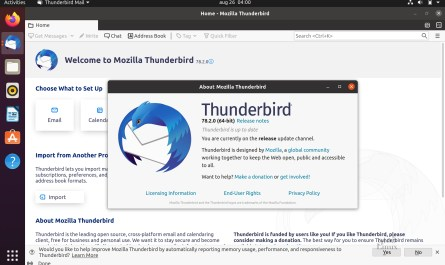 Mozilla Thunderbird 78.2