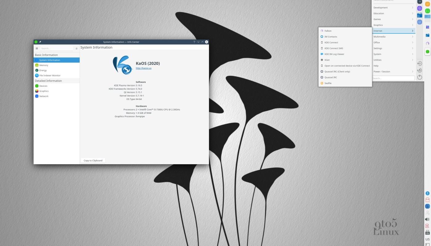 KaOS Linux 2020.09