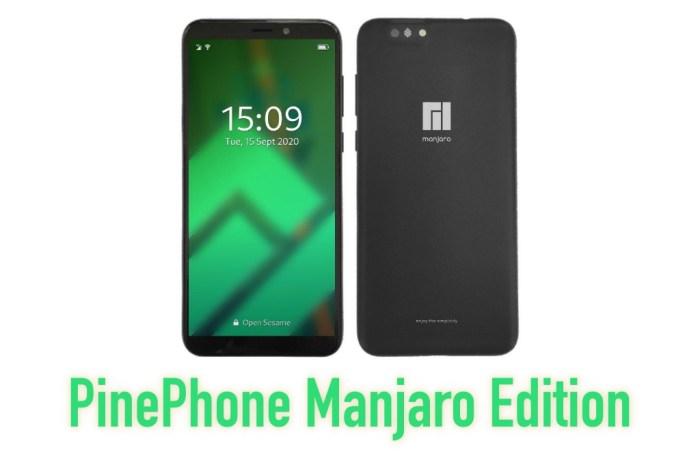 PinePhone Manjaro Edition Pre-Orders Go Live