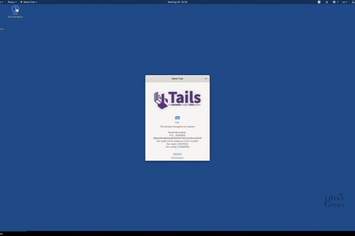 Tails 4.11 Anonymous OS Released with Tor Browser 10, Extended Persistent Storage