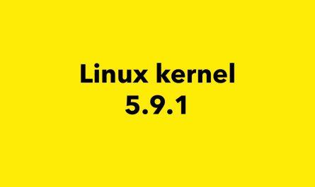 Linux Kernel 5.9 Stable