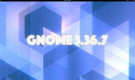 GNOME 3.36.7