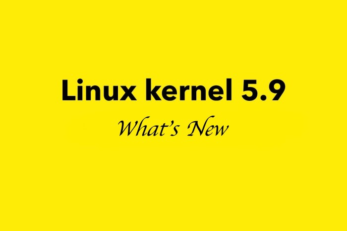 Linux Kernel 5.9 Is Now Available for Download, Here's What's New